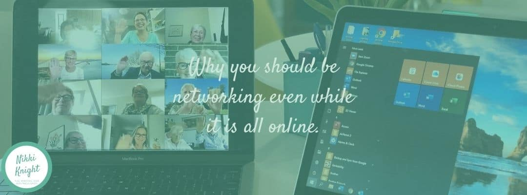 why you should be online networking